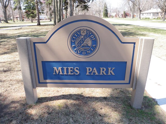 Mies Park Livonia Michigan