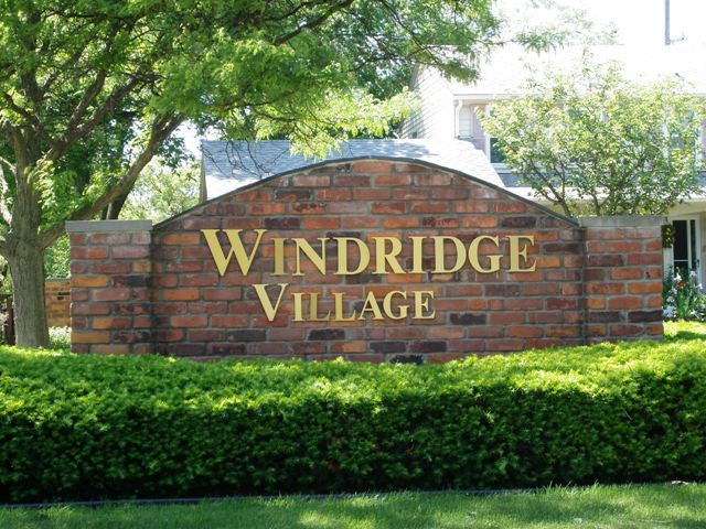 Windridge Village Livonia Michigan Sub Entrance